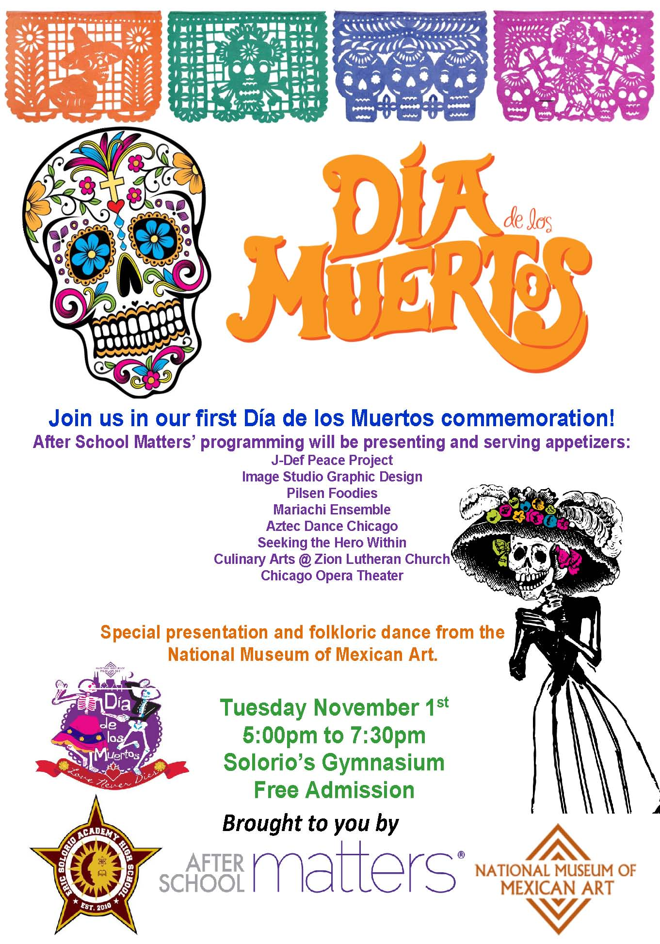 Day Of The Dead Program 2016 English >> After School Matters